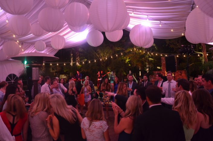 Liquid Blue Band in Fallbrook CA at Grand Tradition Estate
