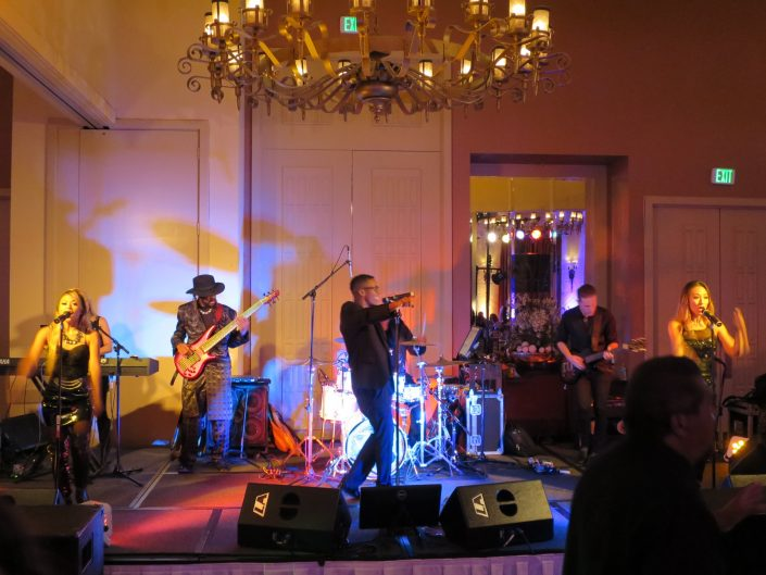 Liquid Blue Band in Pleasanton CA at Castlewood Country Club