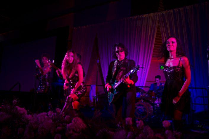 Liquid Blue Band in San Diego CA at Hilton Bayfront