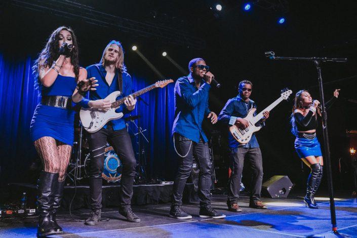 Shades of Blue band at the Filmore